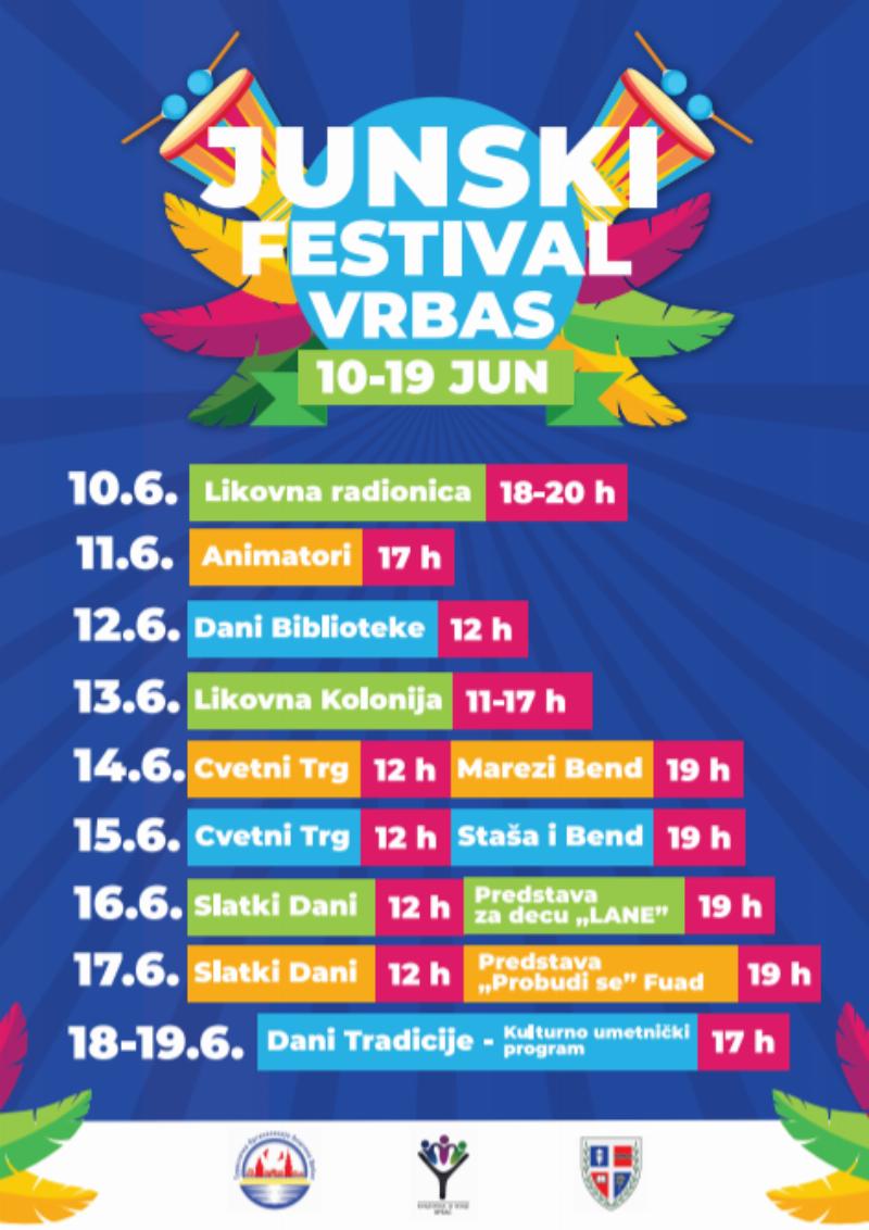 junski festival vrbas