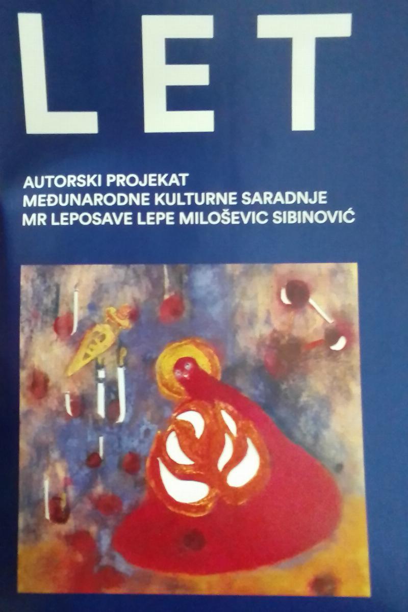 Изложба ЛЕТ - од 11. до 26. новембра 2020. године у Ликовној галерији КЦ Врбаса