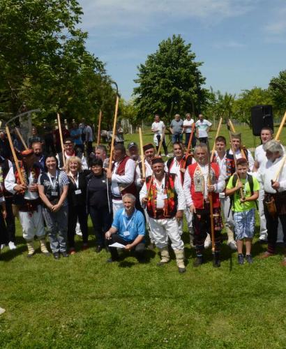 Одржана 12. Војвођанска косидба у Бачком Добром Пољу